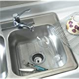 "Rubbermaid - Sink Protector 12.5""X11.5"",Dimensions:12.48""x11.48""x.39"",Clear"