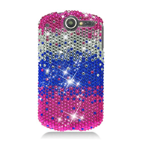Hw Impulse 4G Cs Diamond Case Waterfall Pink,Silver,Blue 321