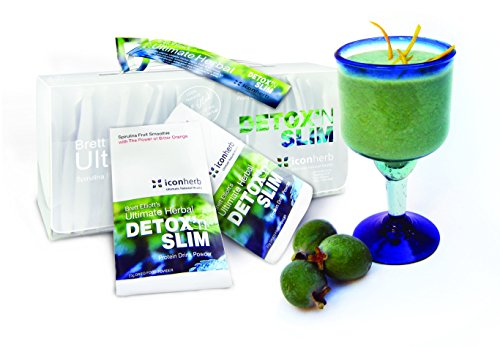 Brett Elliott Herbal Detox 'N' Slim Detox Smoothie (32 Sachets)