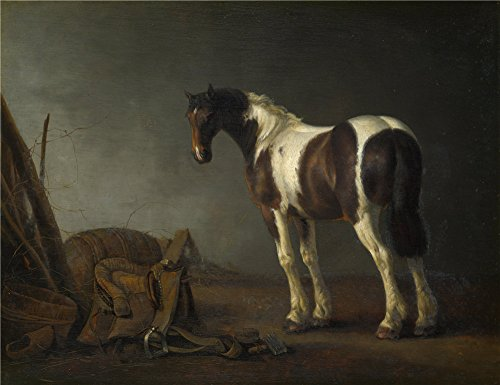 Perfect Effect Canvas ,the Replica Art DecorativePrints On Canvas Of Oil Painting 'Abraham Van Calraet A Horse With A Saddle Beside It ', 12 X 16 Inch / 30 X 40 Cm Is Best For Laundry Room Gallery Art And Home Gallery Art And Gifts (Toddler French Fries Costume compare prices)