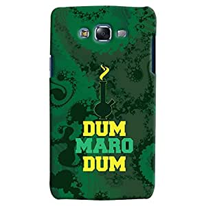 ColourCrust Samsung Galaxy J5 Mobile Phone Back Cover With Dum Maro Dum Quirky - Durable Matte Finish Hard Plastic Slim Case