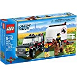 Lego City Limited Edition Set #7635 4WD With Horse Trailer