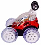 Turbo Twister Stunt Car with Lights and Music Remote Control 360 Turbo Twister Multifunctional Remote Control Car Mini Dasher Invincible Tornado Dazzle Stunt Car Dasher (INVINCIBLE TORNADO)