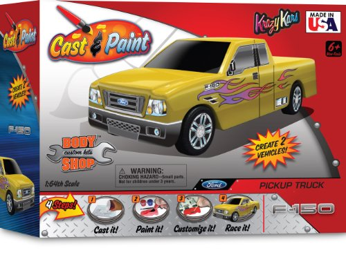 Skullduggery Krazy Kars Cast and Paint Body Shop - Ford F-150 Truck - 1