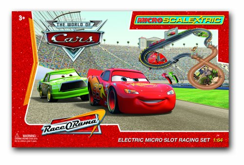 Micro Scalextric G1059 1:64 Scale Disney Cars - The Movie RaceORama Race Set