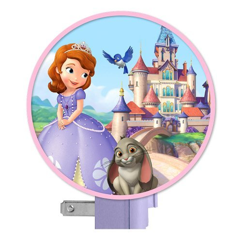 Disney Sofia the First Collection for Nursery / Toddler Room (Night Light) - 1