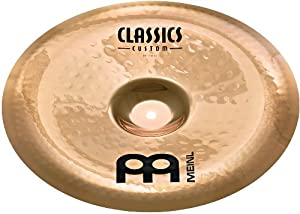 Meinl Cymbals CC16CH-B Classics Custom Serie 40,64 cm (16 Zoll) China Brilliant Finish Becken