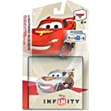 Disney Infinity Exclusive Game Figure Lightning McQueen [Translucent]