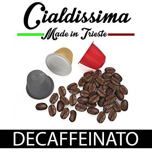 Choose cialdissima 100 CAPSULES NESPRESSO COFFEE! 100% COMPATIBLE! ITALIAN ESPRESSO! TASTE DECAFFEINATED! from cialdissima