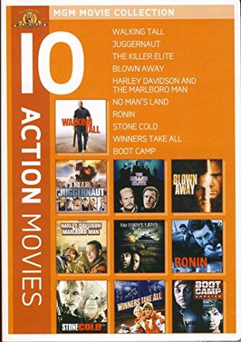 Action 10-Pack (Walking Tall / Juggernaut / The Killer Elite / Blown Away / Harley Davidson And The Marlboro Man / No Man's Land / Ronin / Stone Cold / Winners Take All / Boot Camp)