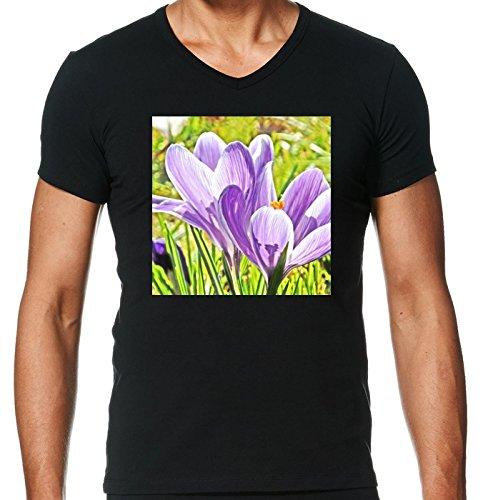 v-ausschnitt-schwarz-herren-t-shirt-grosse-s-crocus-blume-by-wonderfuldreampicture