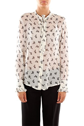 Camicie Pinko Donna Viscosa Bianco e Nero 1W10L35793ZZ1 Bianco 44