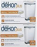Diaper Dekor Plus Refill - 2 ct - 2 pk