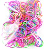 Tie Dye Rubber Band Refills - Assorted Tie Dye (300 Pack)