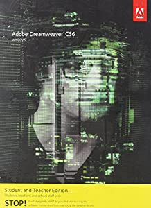 Adobe Dreamweaver CS6 Student and Teacher Edition