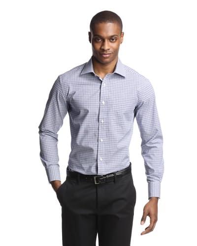 Aquaviva Men's Glenn Plaid Dress Shirt