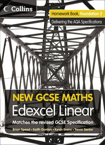 Homework Book Foundation 2: Edexcel Linear (A) (New GCSE Maths)