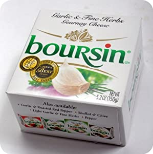 Boursin Garlic Herbs Cheese - Creamy, 5oz.