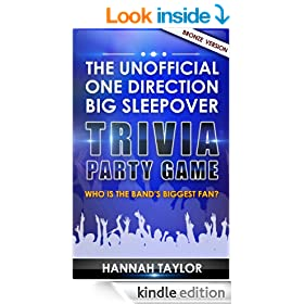 The Unofficial ONE DIRECTION Big Sleepover Trivia Party Game: Who is the Band's Biggest Fan? Bronze Version)