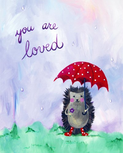 Cici Art Factory Wall Art, You Are Loved, Small