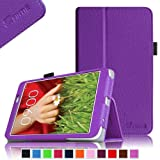 Fintie LG G PAD 8.3 Folio Case - Premium Leather Cover with Auto Sleep/Wake Feature for Model V500/V510 (Wifi Version) & VK810 (Verizon 4G LTE) - Violet