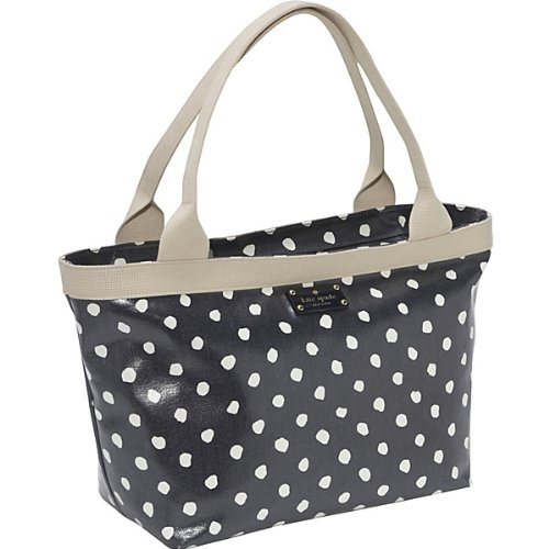 Kate Spade Pxru2228 Dizzy Dot Sophie Baby Bag,Navy/Clotted Cream Spot,one size