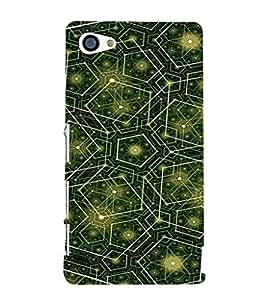 EPICCASE Trippy green Mobile Back Case Cover For Sony Xperia Z5 Mini / Z5 Compact (Designer Case)