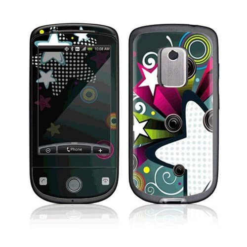 Retro Stars Decorative Skin Cover Decal Sticker for HTC Hero (Sprint) Cell Phone