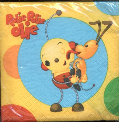 Rolie Polie Olie Small Napkins (16ct)