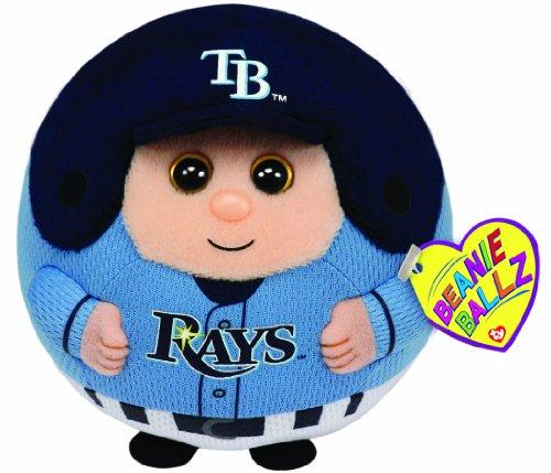 Ty Beanie Ballz MLB Tampa Bay Rays Plush