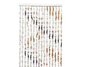 """Maisstrohvorhang """"Shanghai"""" 100 x 200 cm, natur Brema 106"""