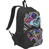 Roxy Clear Sight Black Multi Colored Daypack Backpack