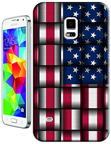 Sangu The American Flag Block Hard Tpu Samsung Galaxy S5 Case