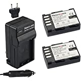 Newmowa® DMW-BLF19 Battery (2-Pack) and Charger kit for Panasonic DMW-BLF19 and Panasonic Lumix DMC-GH3,Lumix DMC-GH4
