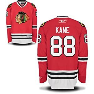 Patrick Kane Chicago Blackhawks Youth Red Home Premier Jersey by Reebok by Reebok