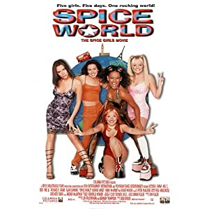 Spice World Movie Spice Girls Original Poster Print - 27x40