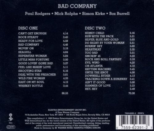Bad Company - The Original Bad Company Anthology (Disk 1 of 2) - Zortam Music
