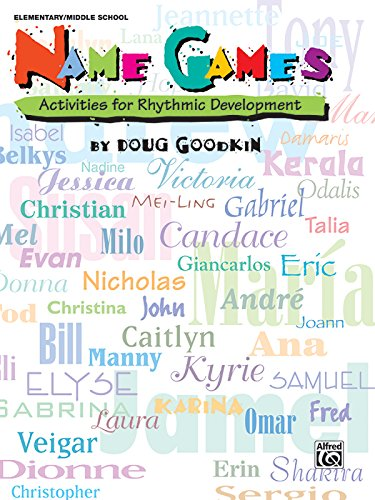 Name Games Active For Rhythmic Development front-824726