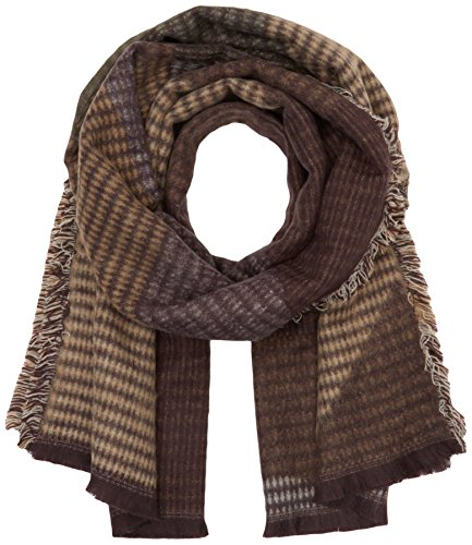 tom-tailor-womens-colour-block-scarf-hat-and-glove-set-brown-cougar-brown-one-size