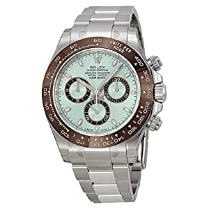 Rolex Daytona Platinum Ice Blue Dial Ceramic 116506 Box/papers Unworn 2014 by ROLEX