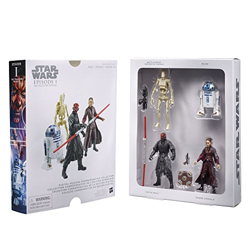 Star Wars Digital Collection 3 3/4-Inch Action Figures - Episode 1 - The Phantom Menace