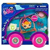 Littlest Pet Shop Pets On The Go Series 1 Guinea Pig With Hang Glider