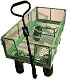 The Large And Versatile Pull Along Handy Garden Trolley - Ideal For Transporting Tools, Plants and Garden Waste