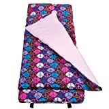 Wildkin Peace Signs Purple Nap Mat