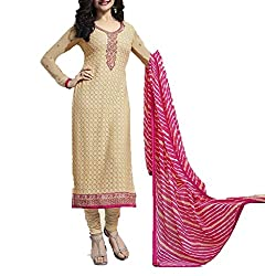 Hetal's Boutique Women's Georgette Unstitched Dress Material_72_Multicolored_Freesize