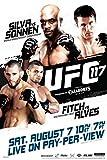 UFC 117 Anderson Silva vs Chael Sonnen Sports Poster 12x18