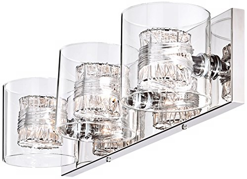 Incredible Possini Euro Design Wrapped Wire 22 Wide Bathroom Light Home Interior And Landscaping Staixmapetitesourisinfo