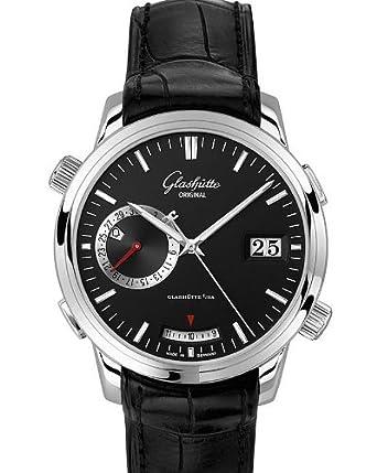 Glashutte Senator Men's Automatic Alarm Watch 100-13-02-02-04