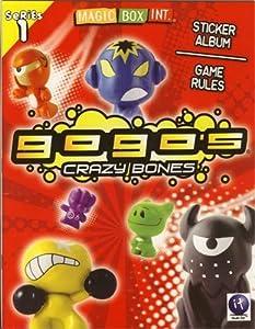 Crazy Bones Gogo's Series 1 Sticker Album and Game Rules Book from Crazy Bones
