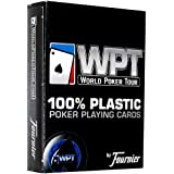 Fournier WPT Poker Size Jumbo Index Playing Cards (Blue)